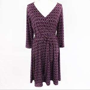 41 Hawthorn Dresses - 41 HAWTHORN Renesme Geo Cube Wrap Dress size XL